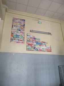 Dernier étage de l'école élémentaire