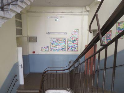 Le palier du 1er étage