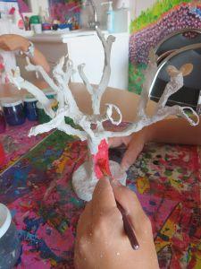 Peinture de l'arbre de Justine