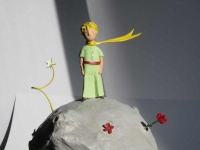 Petit Prince dans un rayon de soleil