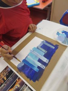 Peindre les immeubles
