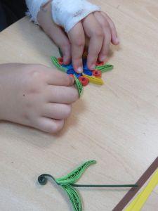 Ateliers créatifs avec les enfants hospitalisés