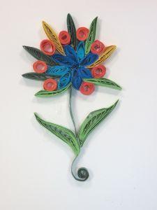 La fleur réalisée par Sahna, 9 ans