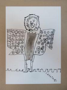 Un ours papillon