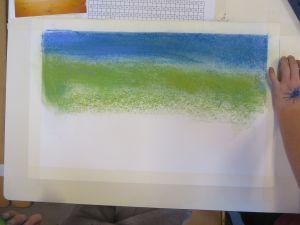 Peindre d'abord le ciel