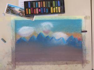 Apprendre à dessiner avec des pastels