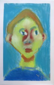 Auto portrait en couleur