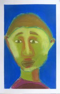 Portrait au pastel