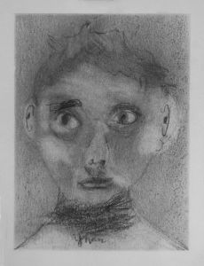 Autoportrait d'enfant
