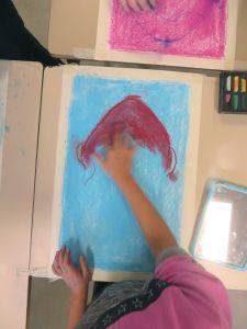 Peindre les cheveux en rouge