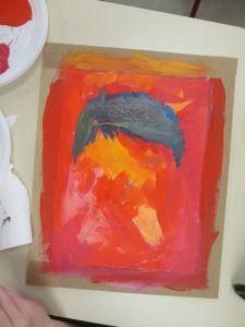 Peinture inachevée