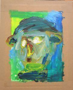 Autoportrait vert