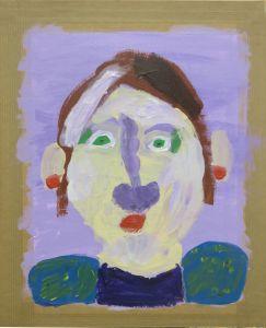 Peinture réalisée par une enfant