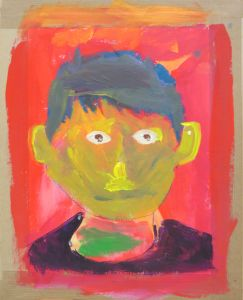 Séance de peinture à l'école élémentaire