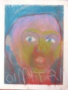 Autoportrait d'enfant hospitalisé