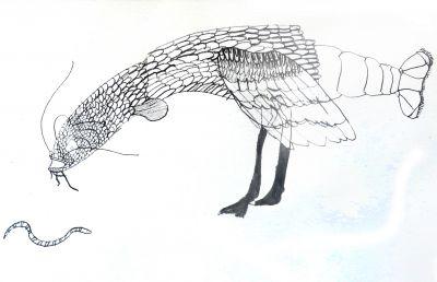 Dessiner une créature immaginaire