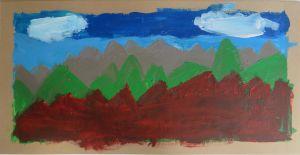 Lignes de montagnes