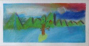 Apprendre à utiliser des pastel pour peindre un paysage