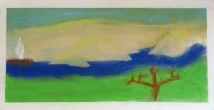 Petit paysage en couleur
