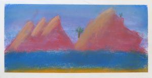 Peindre avec des craies colorées