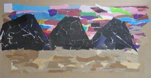 Montagnes de sable noir