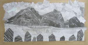 Paysages en collage