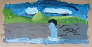 Peinture réalisée en classe