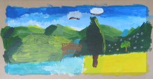 Peindre un paysage imaginaire