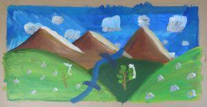 Un cours de peinture pour créer un paysage