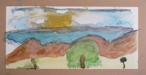 Paysages à l'aquarelle