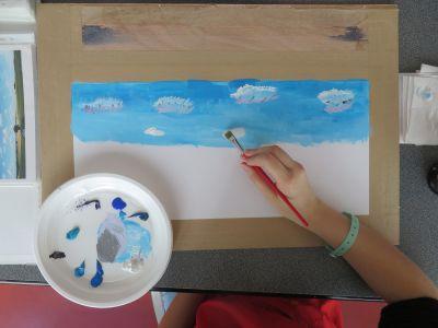 Peindre le ciel