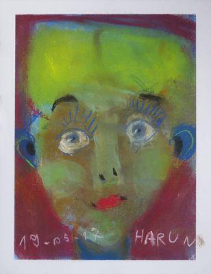 Autoportrait aux cheveux jaunes
