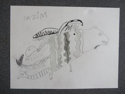 Le dessin de Nazim
