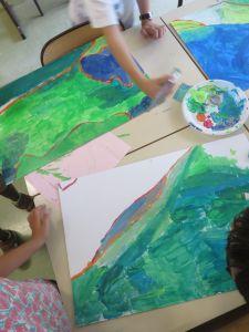 Apprendre à peindre à l'acrylique