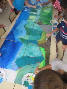 Peindre un grand paysage