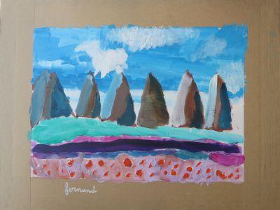 Le paysage de Fernand, 7 ans