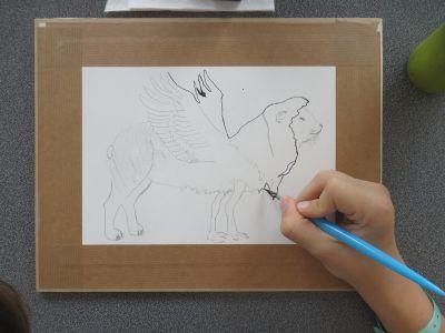 Dessiner une créature imaginaire