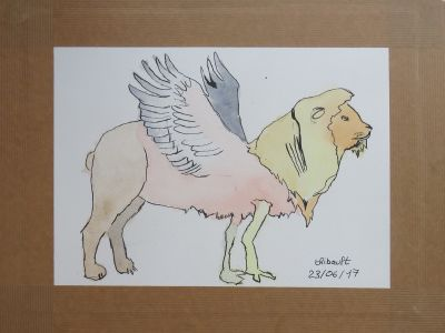 Le dessin de Thibault, 17 ans