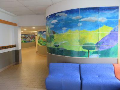 La grande fresque du hall d'entrée
