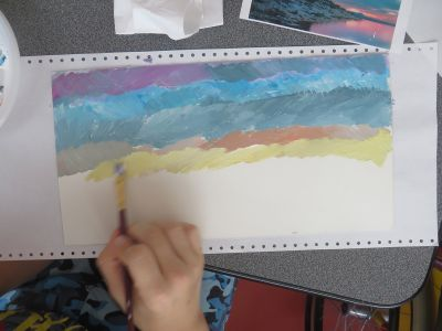 Créer un coucher de soleil