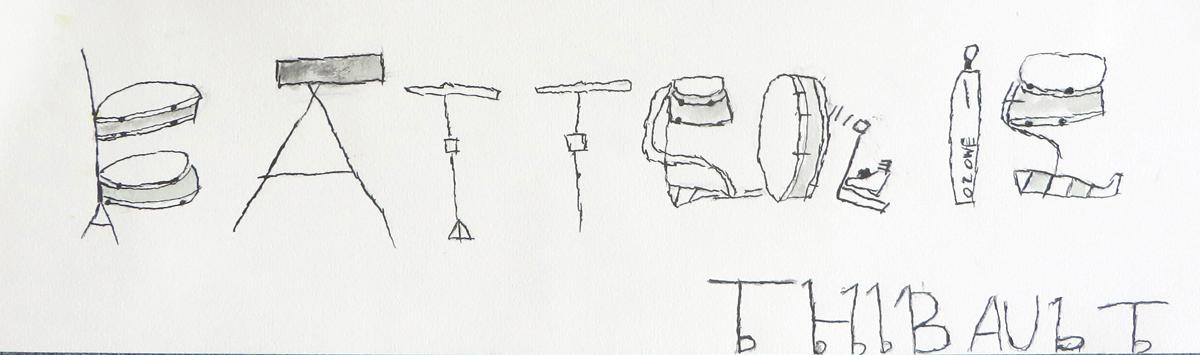 Des dessins à la place des lettres