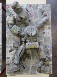 Sculpture de bonhomme