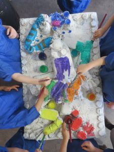 Création en couleur