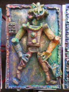 Bas-relief ciré