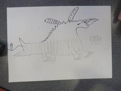 La créature imaginée par Stella