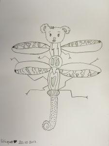 La créature de Laure-Angélique, 12 ans.
