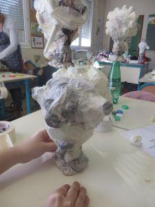 Fabriquer des marionnettes à l'école