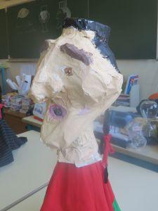 Marionnette réalisée par un enfant de CE2