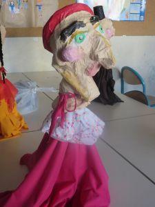 Marionnette de Madame Boulou