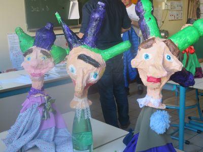 Marionnettes de mendiants dans Guignol